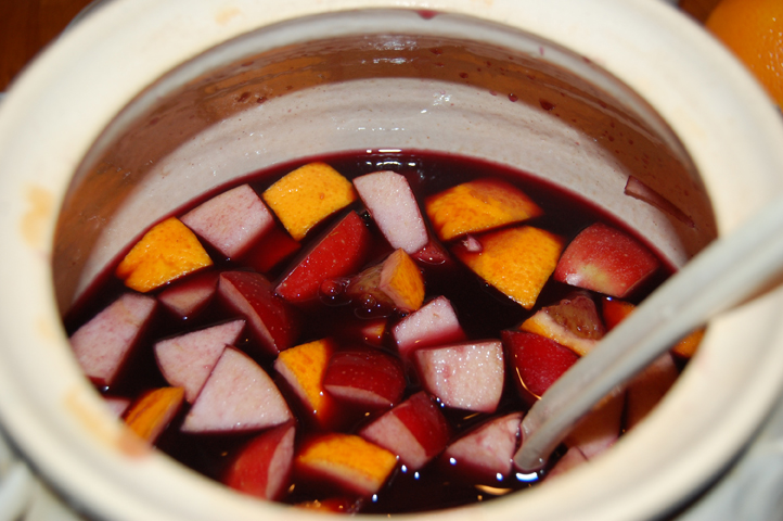 ... booze spiced apple cider sangria daily beat booze spiced apple cider