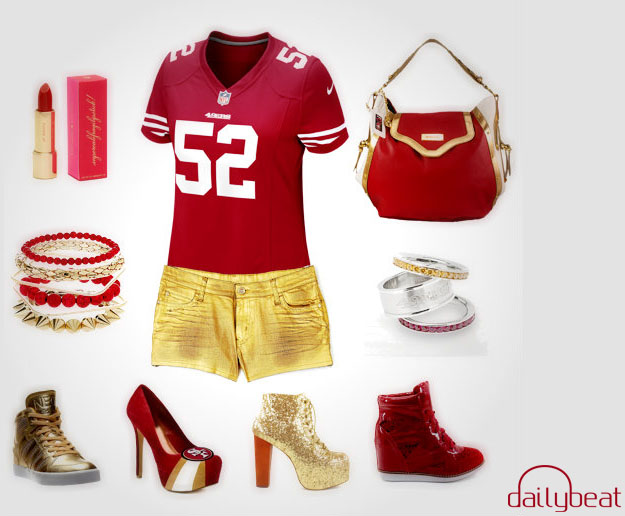 49ers copy - Super Bowl XLVII: Creating Your Gameday Outfit - Daily Beat