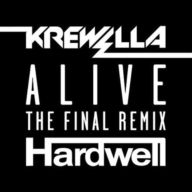 Krewella - Alive (Hardwell 'The Final' Remix) - Daily Beat
