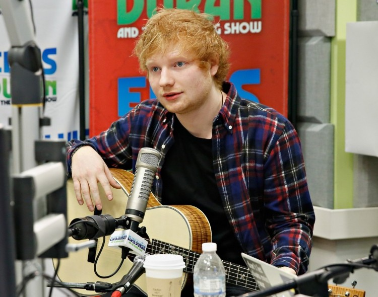 "Ed Sheeran And Siva Kaneswaran Visit The ""Elvis Duran Z100 Morning Show"""