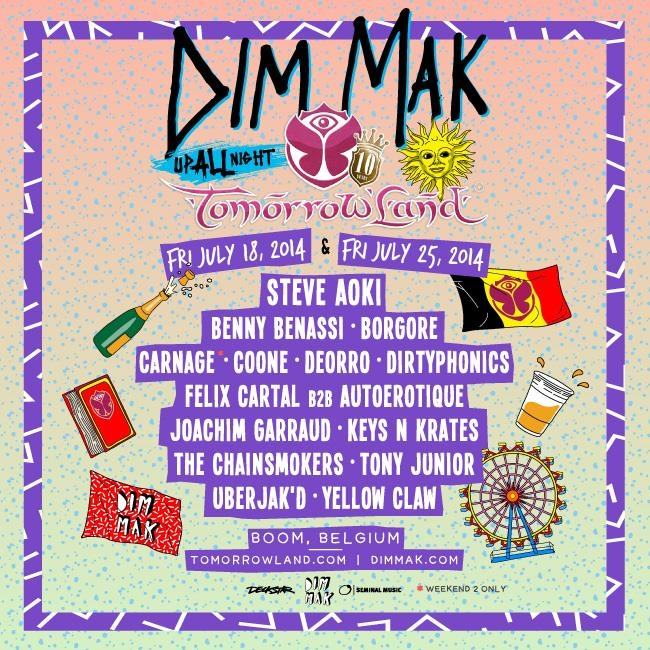 Dim Mak Tomorrowworld