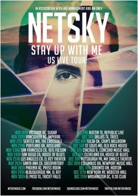 Netsky-tour-poster