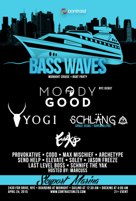 Bass Waves (04.24.2015) Flyer