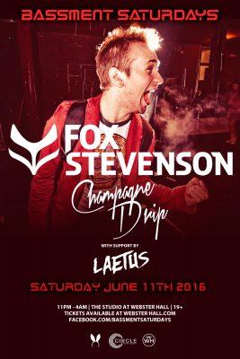 fox stevenson at Bassment