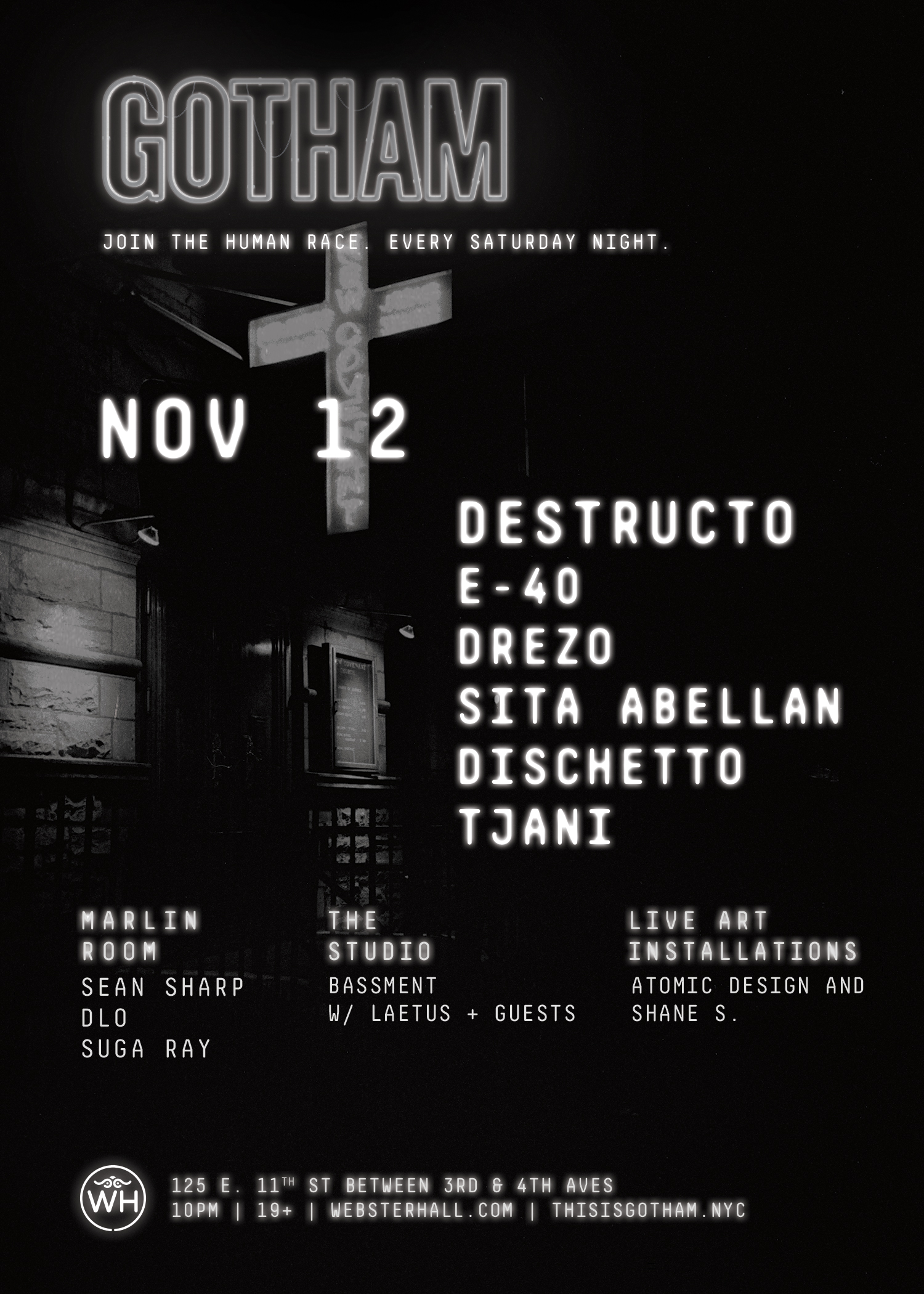 destructo at webster hall