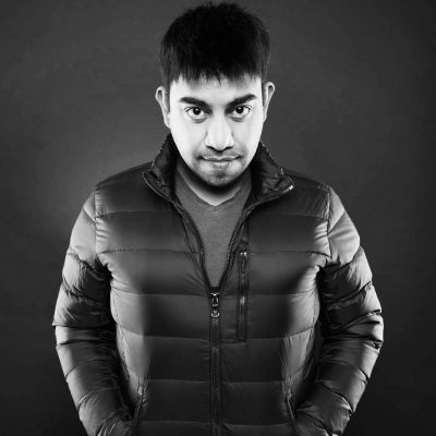 nikhil prakash black and white