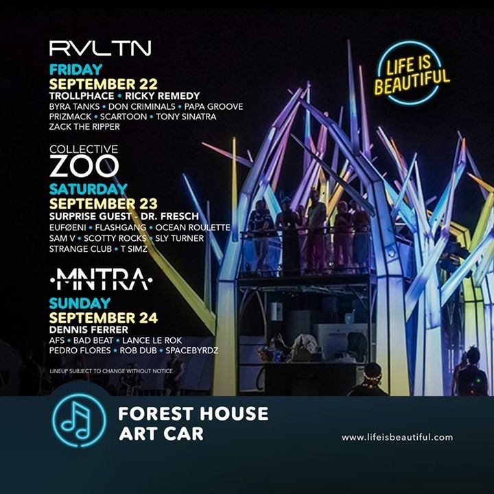 forest house art car