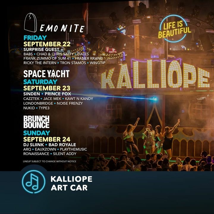 kalliope art car