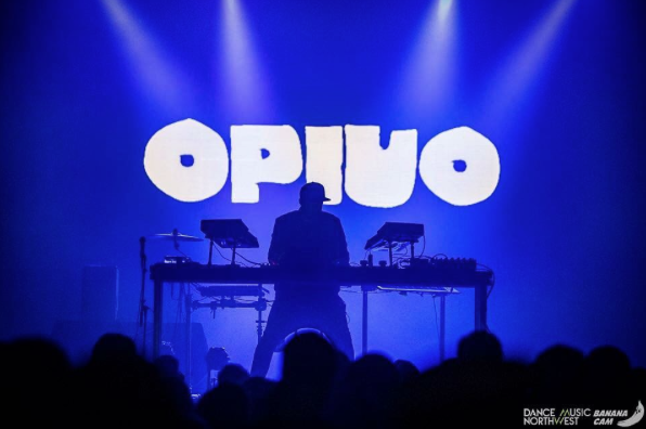 Opiuo throwing down some funk. Photo courtesy of Dance Music Northwest