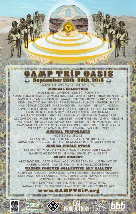 camp trip oasis