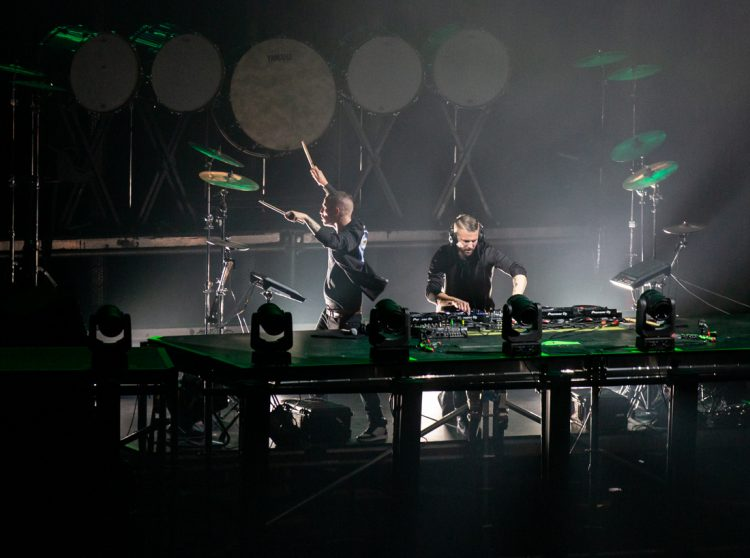 Galantis performs at the Bill Graham Auditorium in San Francisco on Nov. 16, 2018 (Aaron Nelson).